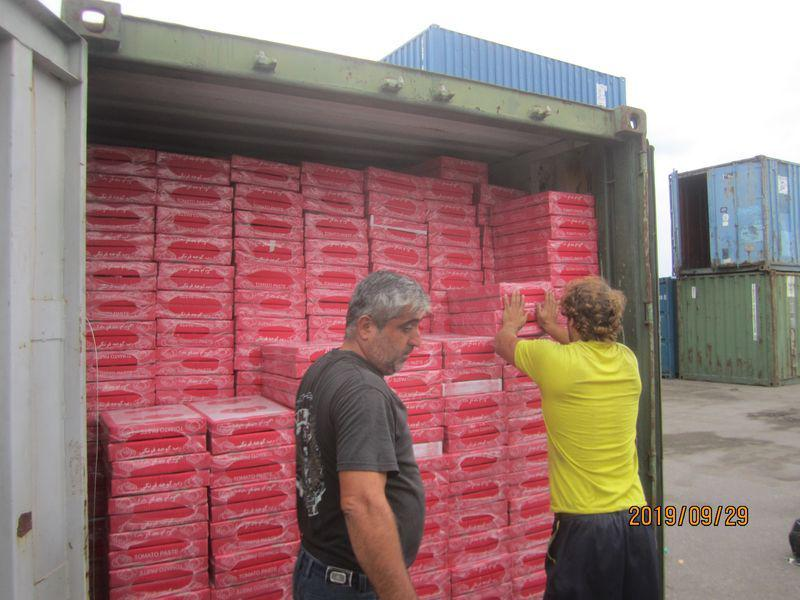 صادرات رب گوجه