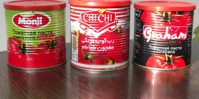رب گوجه صددرصد طبیعی
