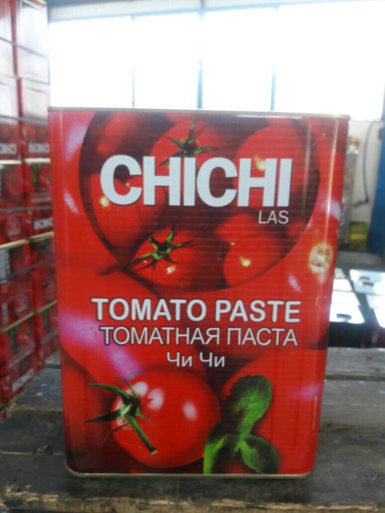 تولید رب گوجه فرنگی حلبی چی چی لاس
