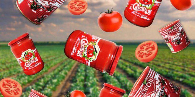 تولید کننده رب گوجه فرنگی چی چی لاس