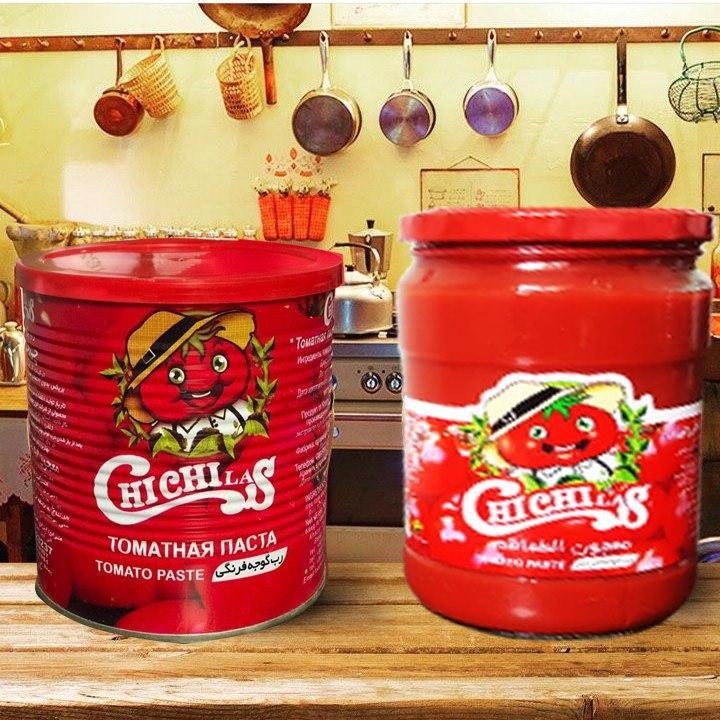 تولید کننده رب گوجه فرنگی صادراتی