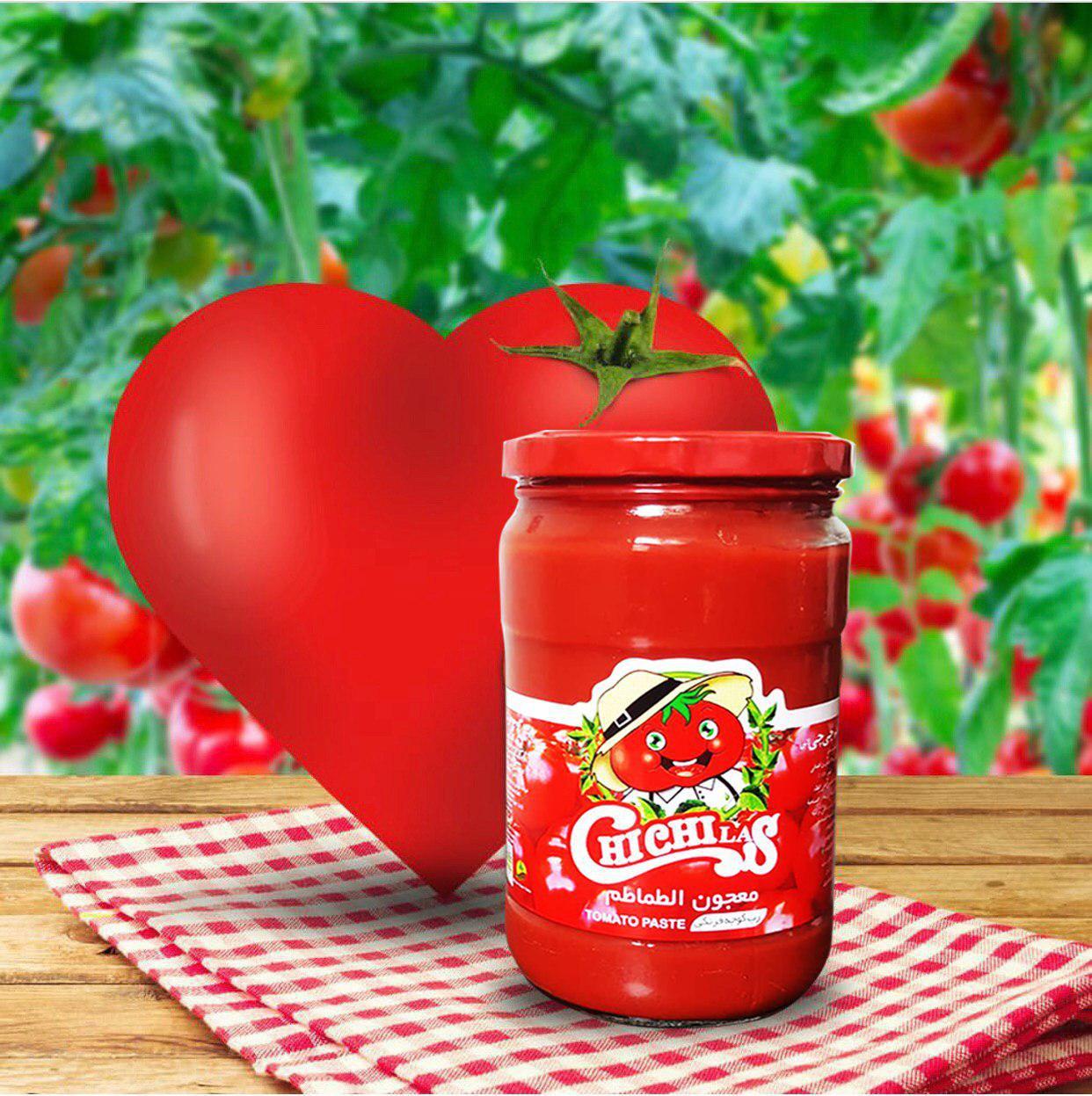 انواع رب گوجه فرنگی شیشه ای چی چی لاس