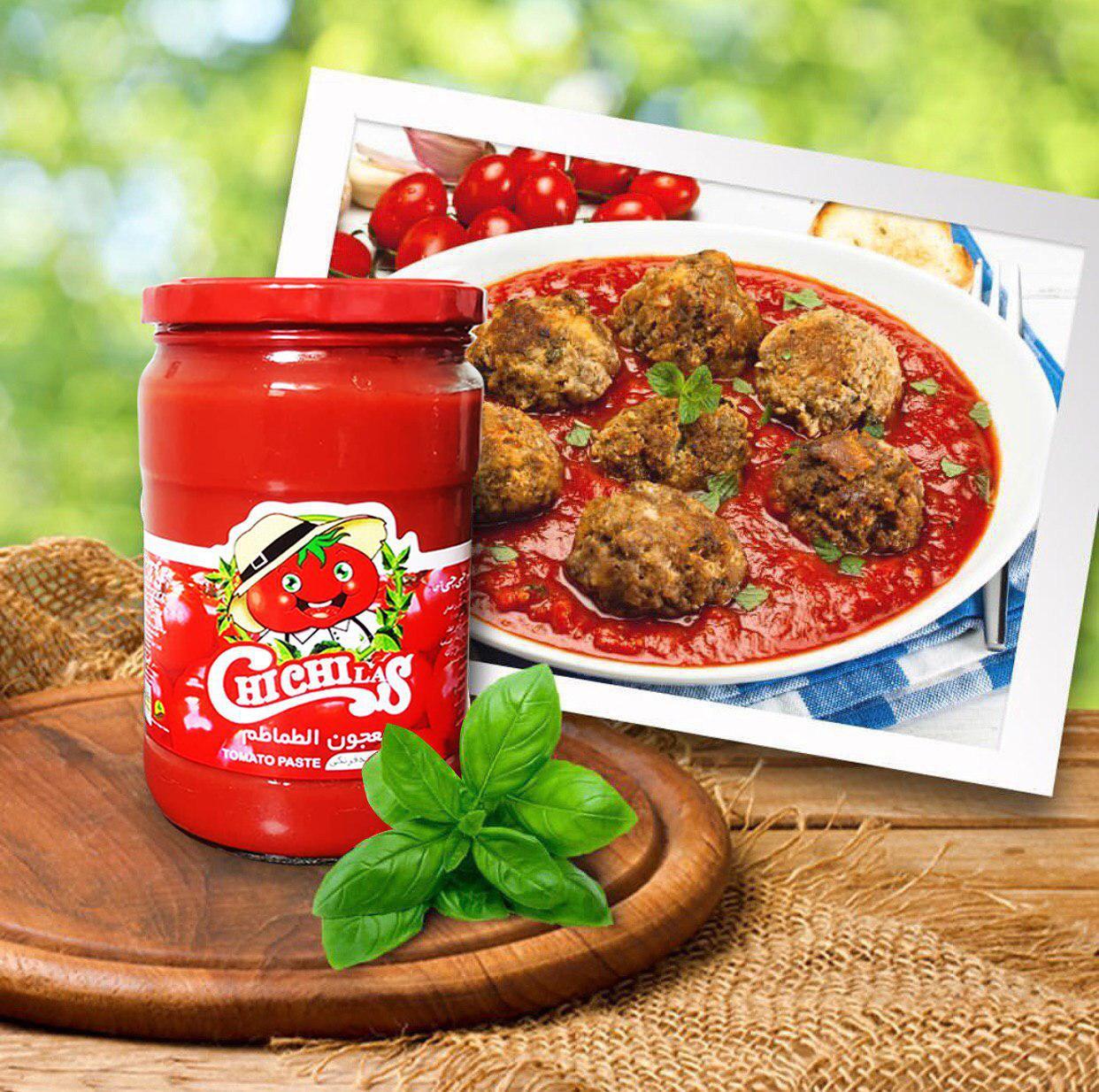 فروش رب گوجه فرنگی شیشه ای