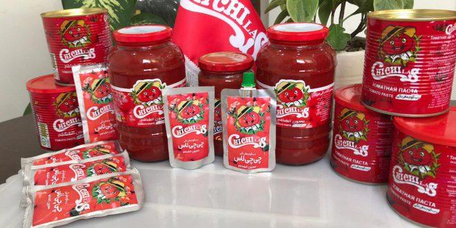 خرید انواع رب گوجه فرنگی چی چی لاس