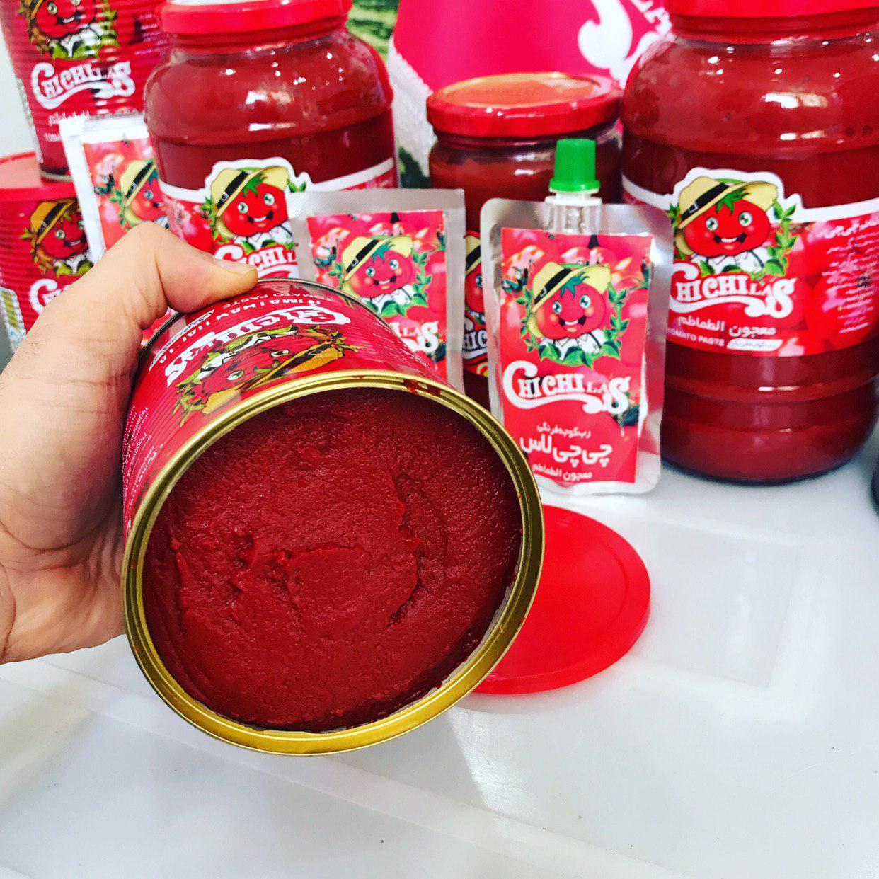 معتبرترین برند صادراتی رب گوجه فرنگی