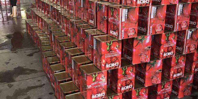 تولید کننده رب گوجه حلبی 17 کیلویی