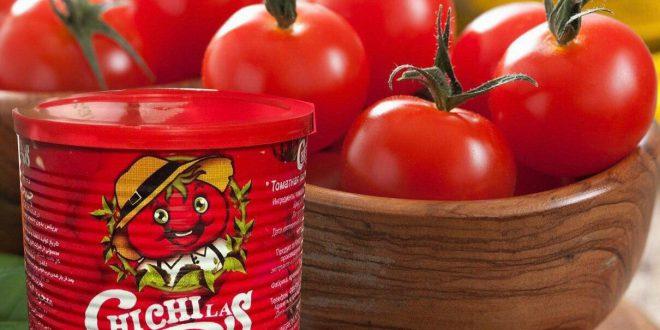 تولیدکننده رب گوجه قوطی 800 گرمی