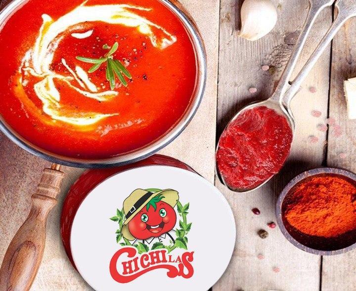 فروشنده رب گوجه فرنگی حلبی