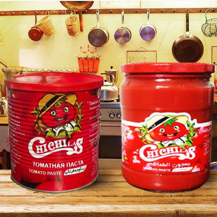 فروشنده انواع رب گوجه فرنگی