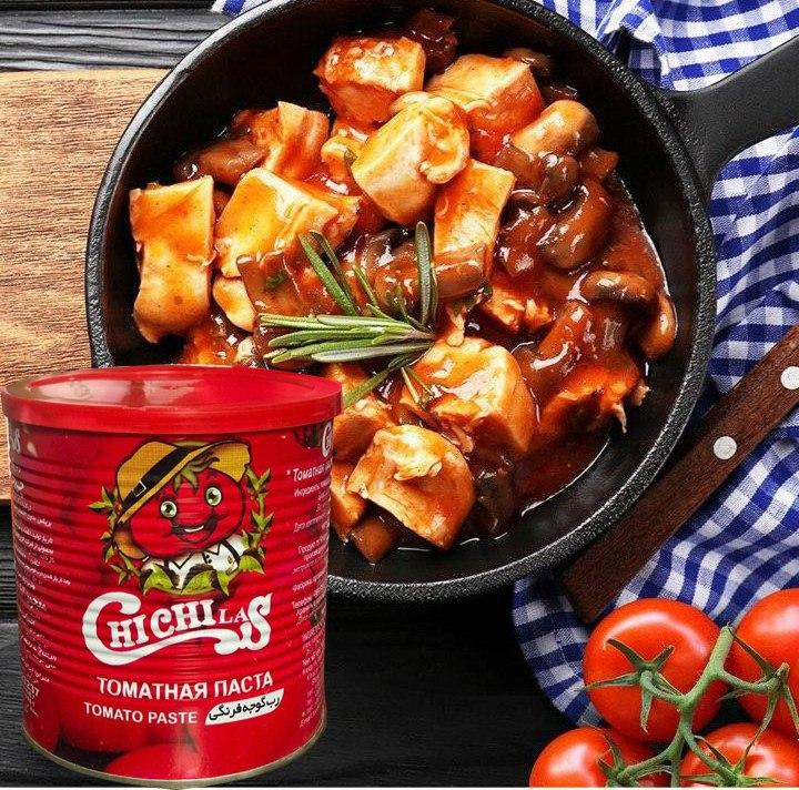 رب گوجه فرنگی قوطی 800 گرمی آسان باز شو